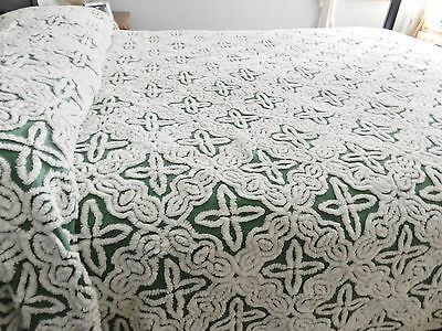 Hofmann chenille bedspread.