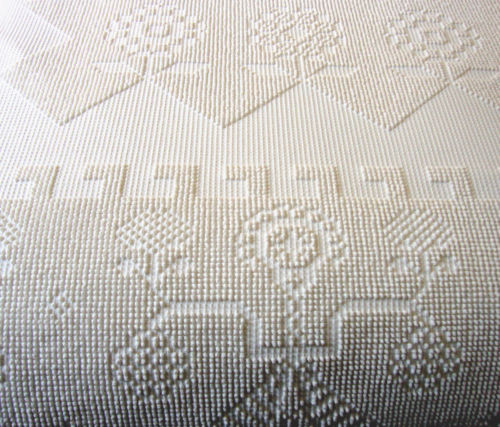 Hobnail Chenille Bedspread